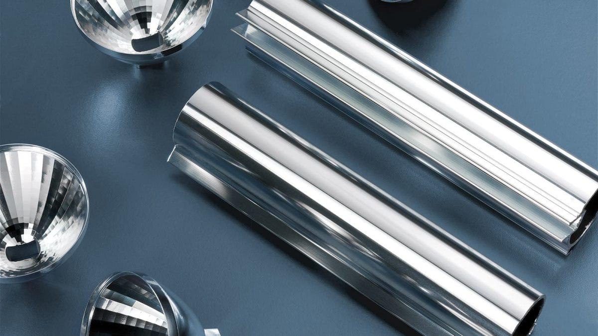 Glanzverfahren, Glänzverfahren, chemischer Hochglanz, elektrolytischer Glanz, Metalux EL, Metalux 7, Metaclear, Hochglanz, Spiegelglanz