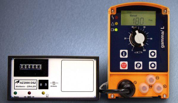 Elektrolytische Färben, Dosiersystem, Metacolor, Ah-Stundenzähler, Metamatik, Dosierpumpe