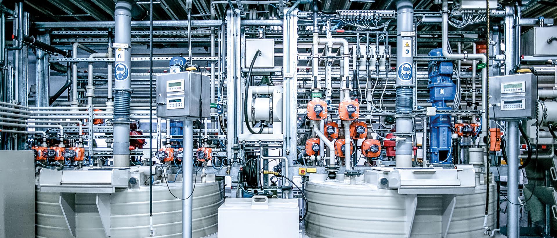 Chemischer Reaktor, Chemische Herstellung, Chemische Manufaktur, Chemische Verfahren, Produktion, Qualität