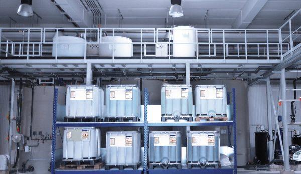 Chemikalienlager, IBC, PS41, PK41, K10, K14
